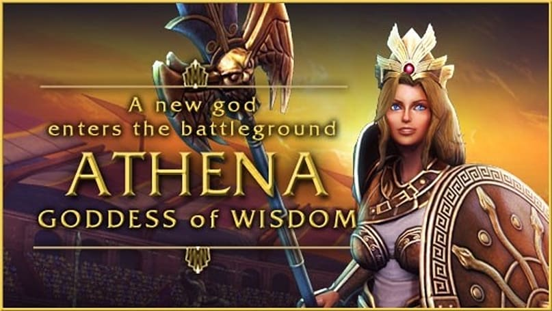 SMITE wises up with Athena