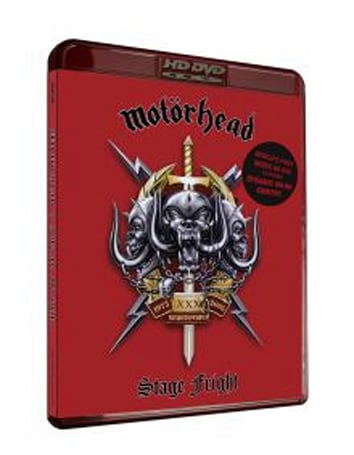 "Motorhead's ""Stage Fright"" is the first online-enabled music, European HD DVD"