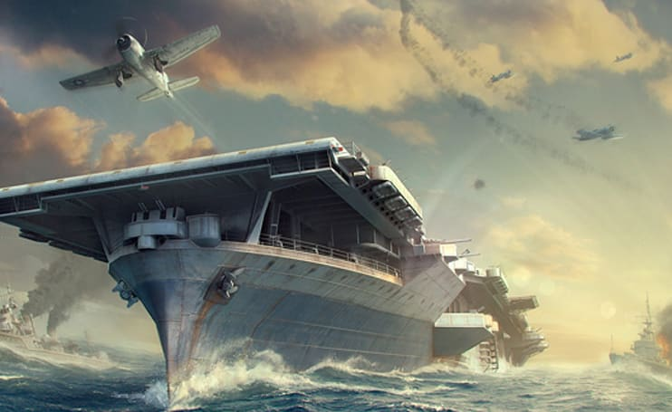 World of Warships gets carriers, weekend beta event