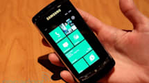 Samsung Windows Phone 7 prototype hands-on