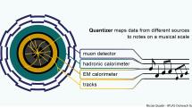 ヒッグス粒子研究のデータを音楽にライブ変換する『Quantizer』公開。モントルー・ジャズ・フェスティバルから発展