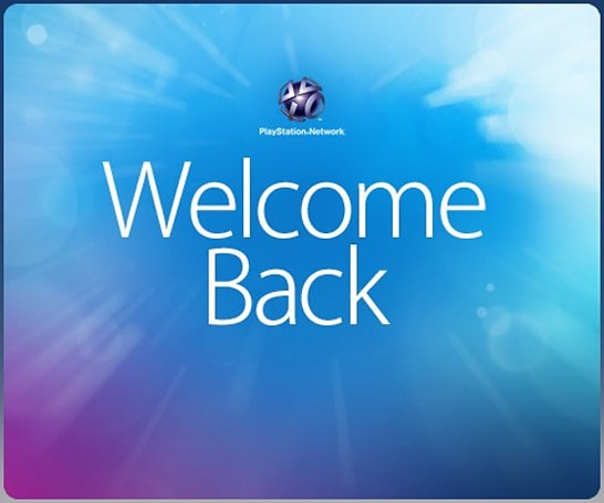 PSN 'Welcome Back' package is here, our long global nightmare is over