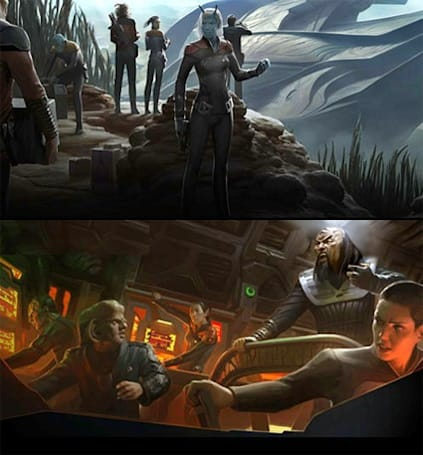 The hidden art of Star Trek Online
