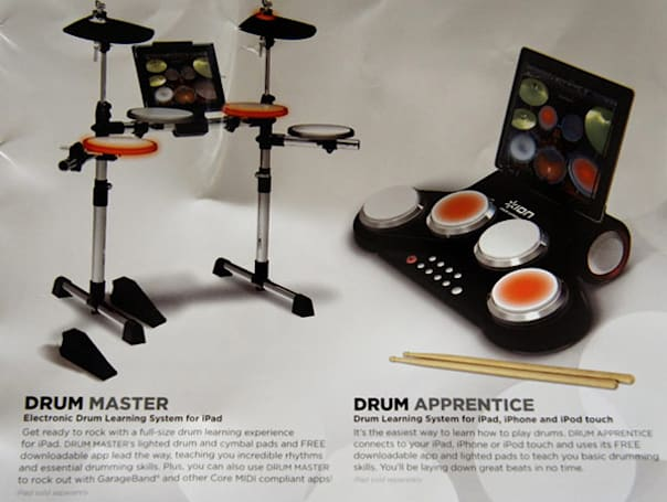Ion's Drum Master and Drum Apprentice help you embrace your inner Travis Barker