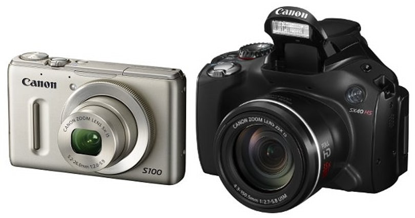 Canon unveils PowerShot S100 and SX40 HS high-end point-and-shoots