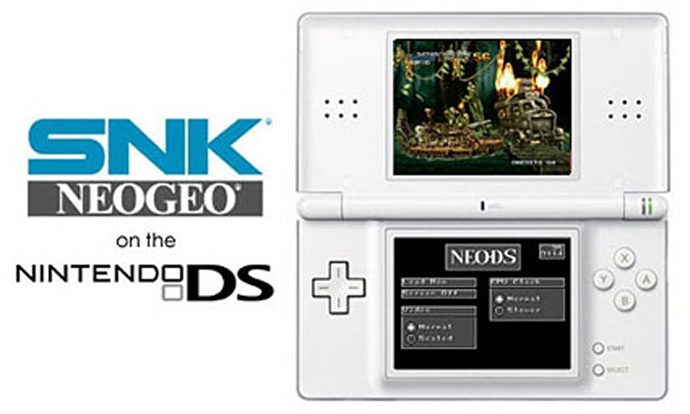 Quick guide for running Neo Geo games on your DS