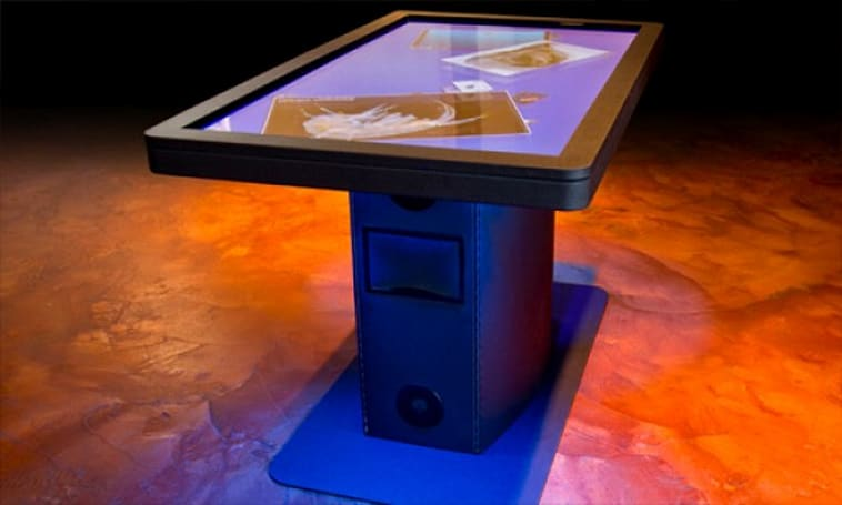 Ideum releases MT55 HD multitouch table for hands-on museum-goers (video)