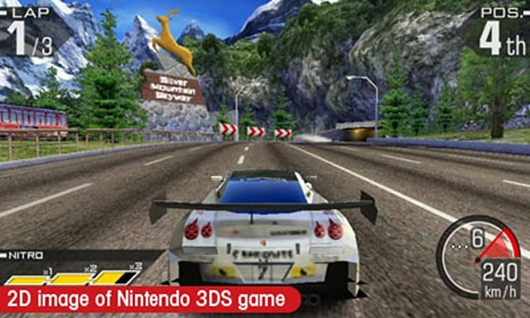 Ridge Racer 3D review: Classic car, new finish
