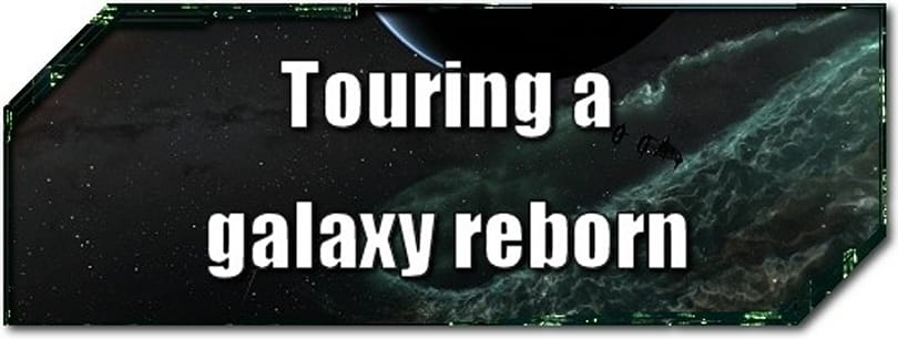 EVE Evolved: Touring a galaxy reborn