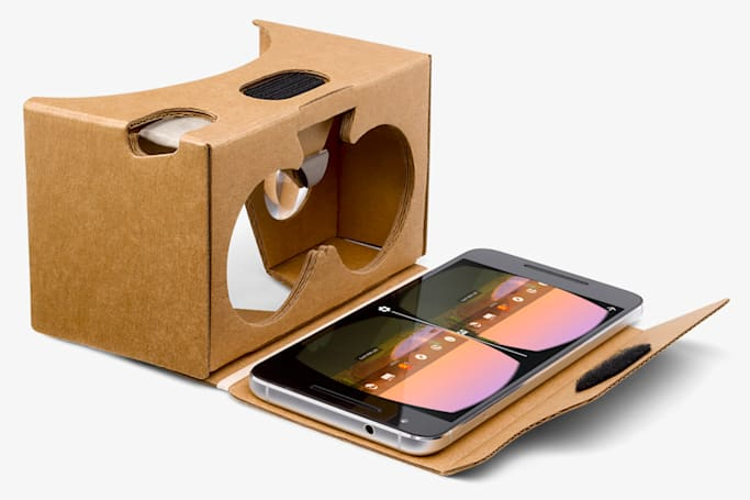 Google's own Cardboard headset arrives in four more countries