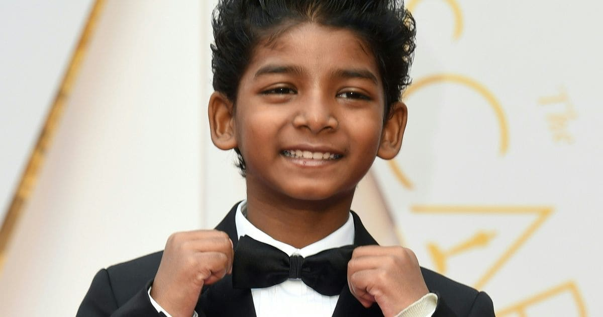 Sunny Pawar Is, Like, Actual Sunshine On The Oscar Red Carpet