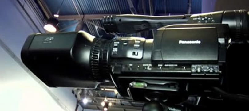 Panasonic's $21,000 3D camcorder gets the hands-on treatment