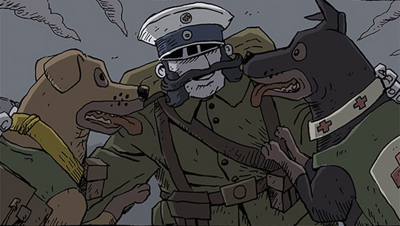 Valiant Hearts 'interactive comic' gratis with iOS version
