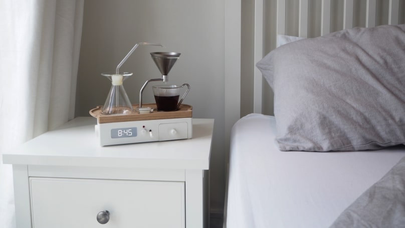 Barisieur's coffee-brewing alarm clock might actually happen