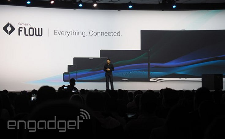 Samsung's 'Flow' ties devices together like Apple's Continuity