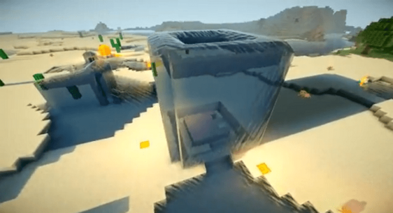 Minecraft mod makes shadows more shadowy, water more watery