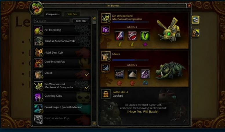 BlizzCon 2011: Pet battles introduced in Pandaria
