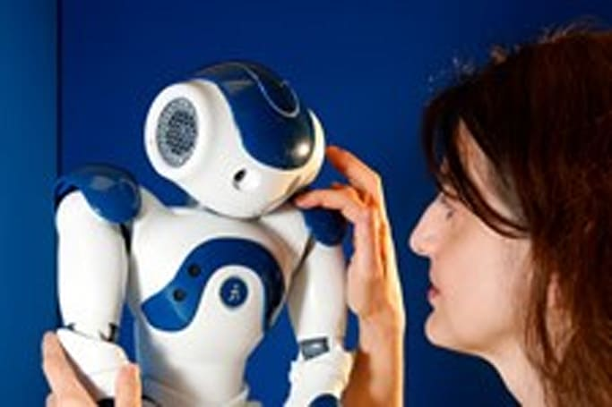 Prototype of robot that develops emotions on interacting with humans officially complete