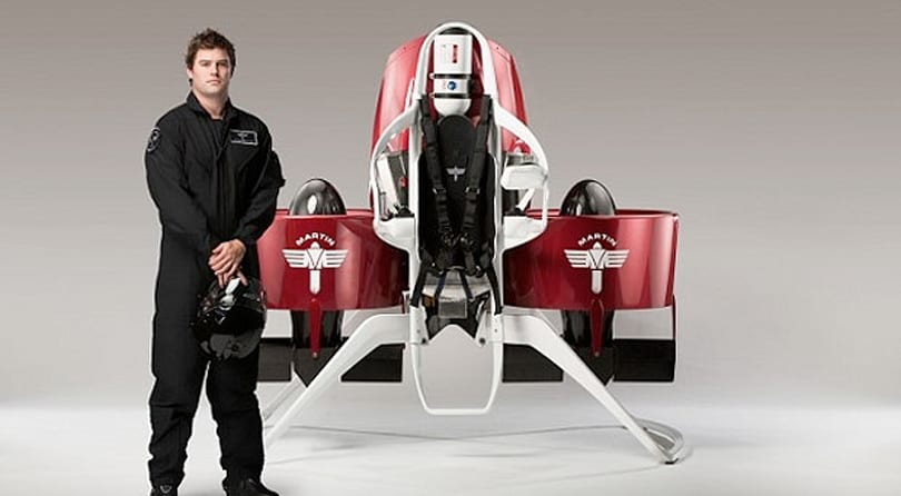 Future finally arrives as Martin Jetpack approved for manned test-flights