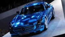 Production-ready Mercedes-Benz SLS AMG Electric Drive supercar unveiled