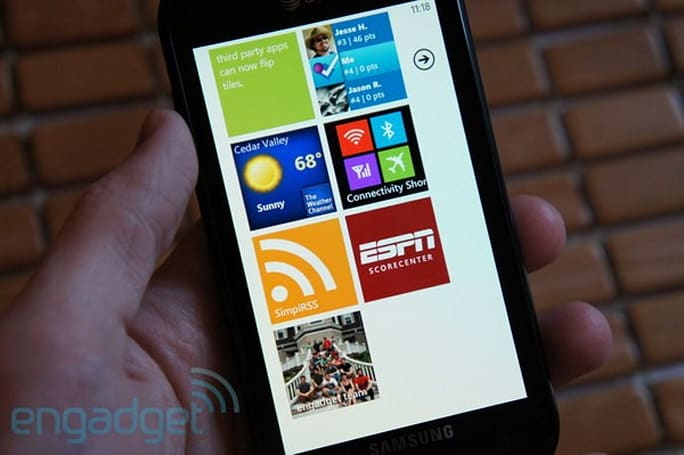 Mango rollout going smoothly, now available to half of all Windows Phones