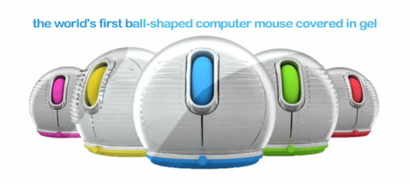 Jelfin spherical mouse is as gooey as it is ballsy