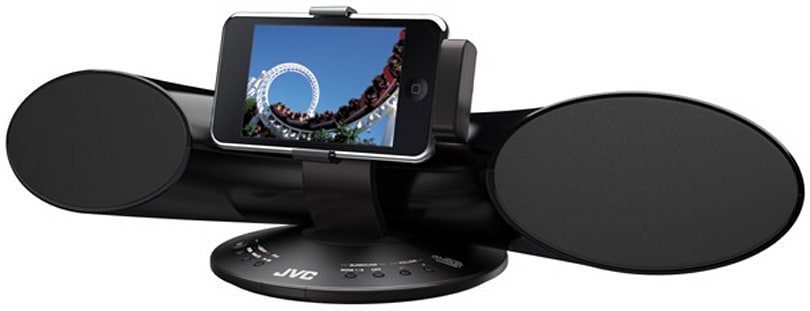 JVC gets tubular with XS-SR3 iPod speaker dock
