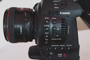 Canon Cinema EOS C100 Hands-On