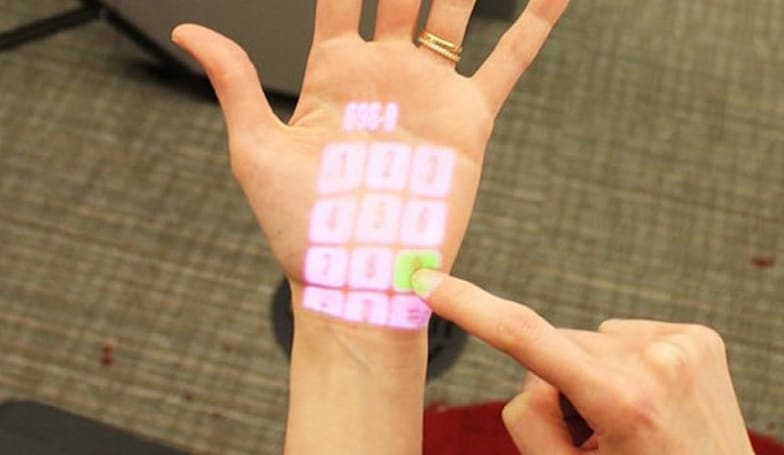 OmniTouch projection interface makes the world your touchscreen (video)