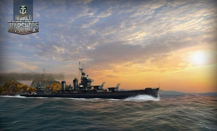 World of Warships debut screens aim for photorealism