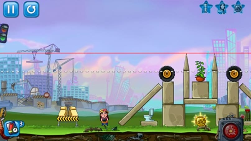 Demolition Crush gives you bombs and plenty of buildings to explode