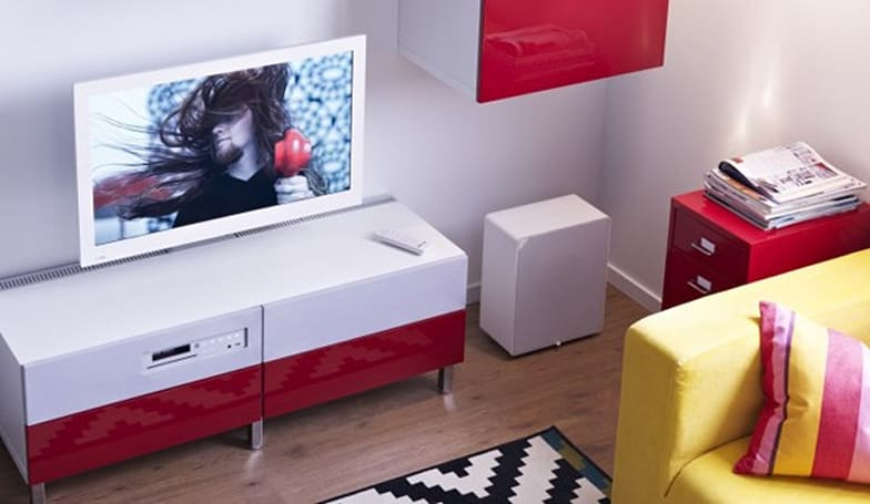 Ikea's Uppleva TV hits European shelves with tiny, 8GB DVR add-on