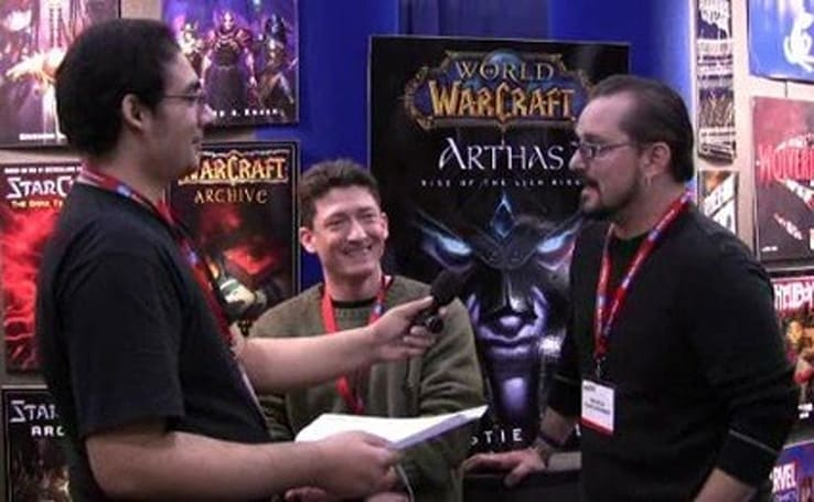 Blizzard at the New York Comic Convention