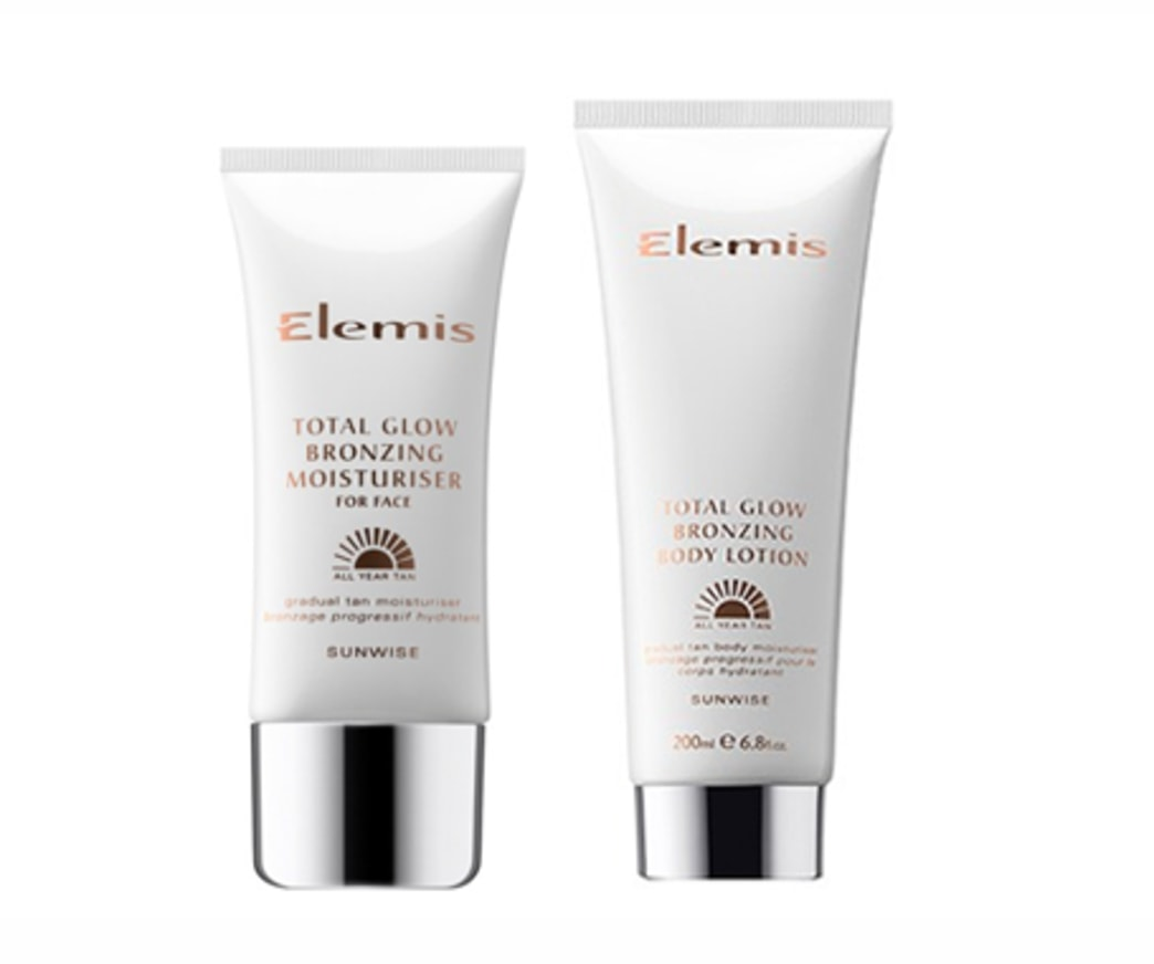 Enter for a chance to win Elemis Total Glow Bronzing Moisturizer and Lotion!