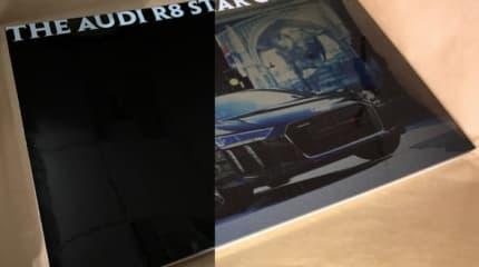 動画:スマホで撮ると現れる、 FFXVコラボのアウディ特別仕様車「The Audi R8 Star of Lucis」コンセプトブックを入手