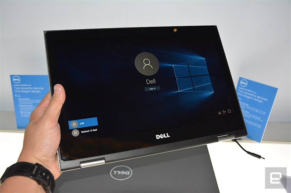 Dell keeps its 2-in-1 laptop momentum going with new models