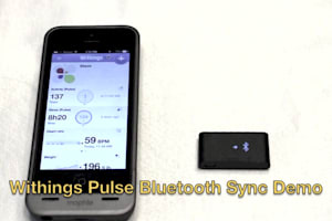 Demo of WIthings Pulse Syncing to iPhone