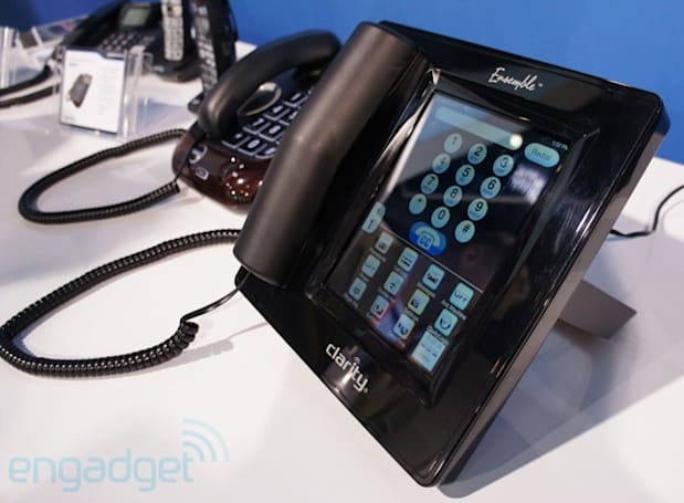 Clarity's Ensemble: an amplified and captioned phone (hands-on)