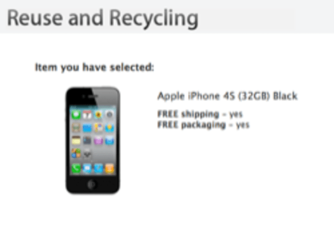 More iPhone and iPad trade-in suggestions