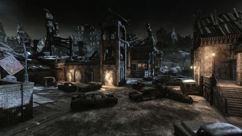 Gears of War 3's Gridlock map has a special nod to Gary Jules' 'Mad World'