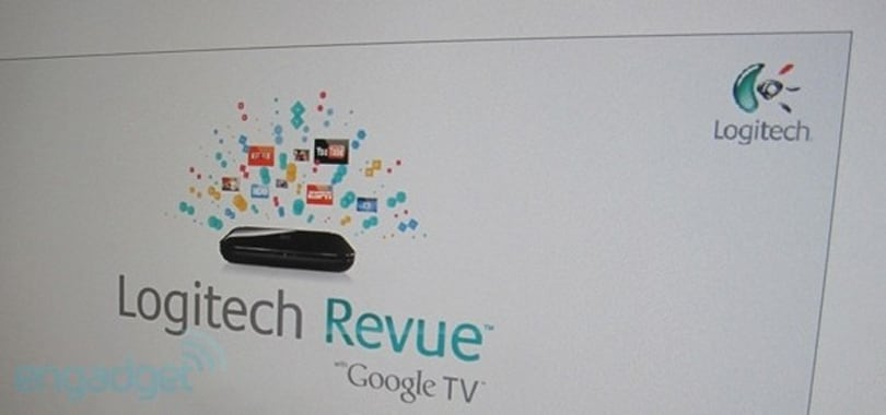 Logitech's 'companion box' gets a name: Revue with Google TV