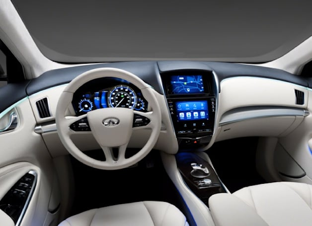 Intel and Nissan collaborate on Infiniti's 2013 infotainment system, Atom inside