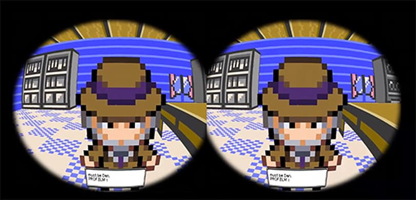 Fan-crafted Pokemon 3D captures Oculus Rift support