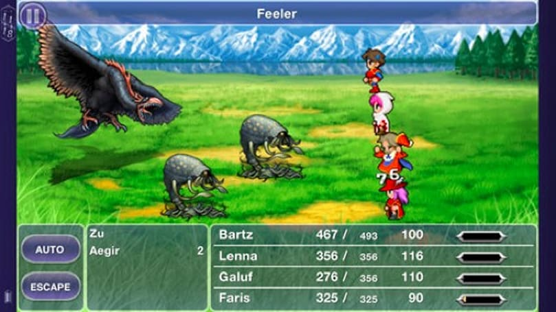 Final Fantasy 5 out now on Android