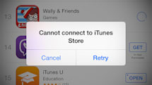 Apple's App and iTunes Stores are down (update: back up)