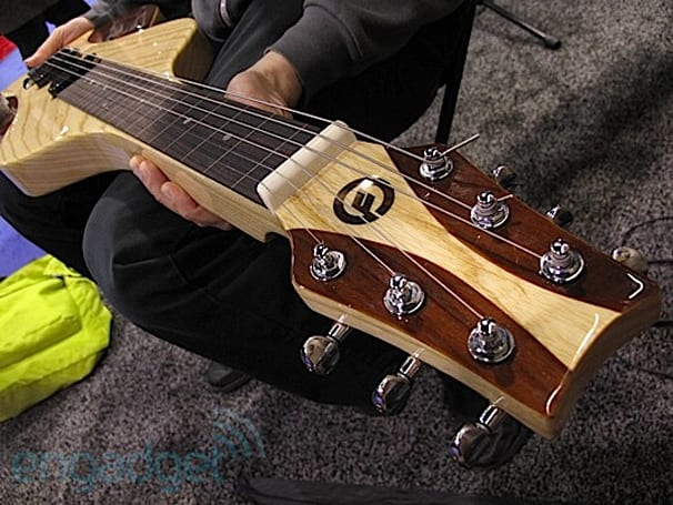 Moog Lap Steel adds infinite analog sustain to the top of your thighs: ears-on at NAMM 2011 (video)