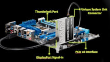 ASUS offers Thunderbolt upgrade card for some 7-series motherboards