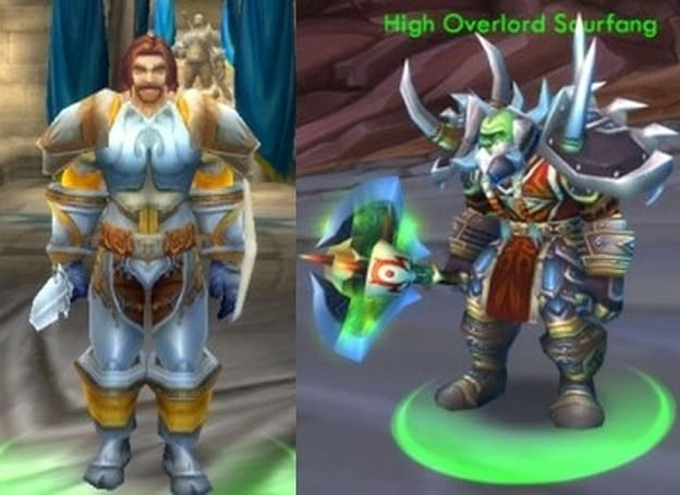 Forum Post of the Day: Fordragon, Saurfang, and original armor