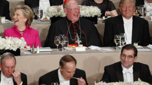 Candidates Trade Insults at Foundation Dinner