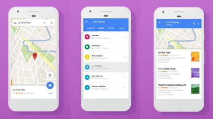 現在 Google Maps 可以為喜歡的地點分類紀錄